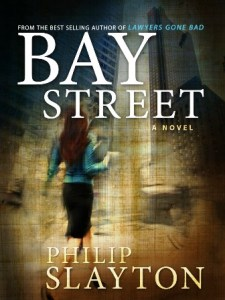 Bay-Street crime fiction Philip Slayton
