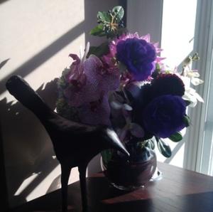 Raven & flowers 2