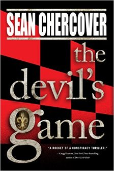Chercover devil's game, crime fiction suspense thriller Murder in Common