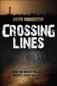 crossing lines, keith houghton, suspense thriller, june lorraine roberts, murder in common