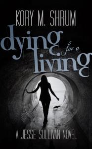 dying living, kory shrum, science fiction, murder, conspiracy, thriller, murderincommon.com