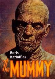 the mummy, boris karloff, horror movies, zombies, thrillers, suspense, terror, murderincommon.com