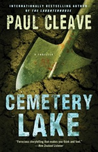 Cemetary Lake by Paul Cleave, Book Review Murder In Common