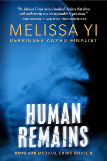 Melissa Yi: Human Remains – Book Launch Today!